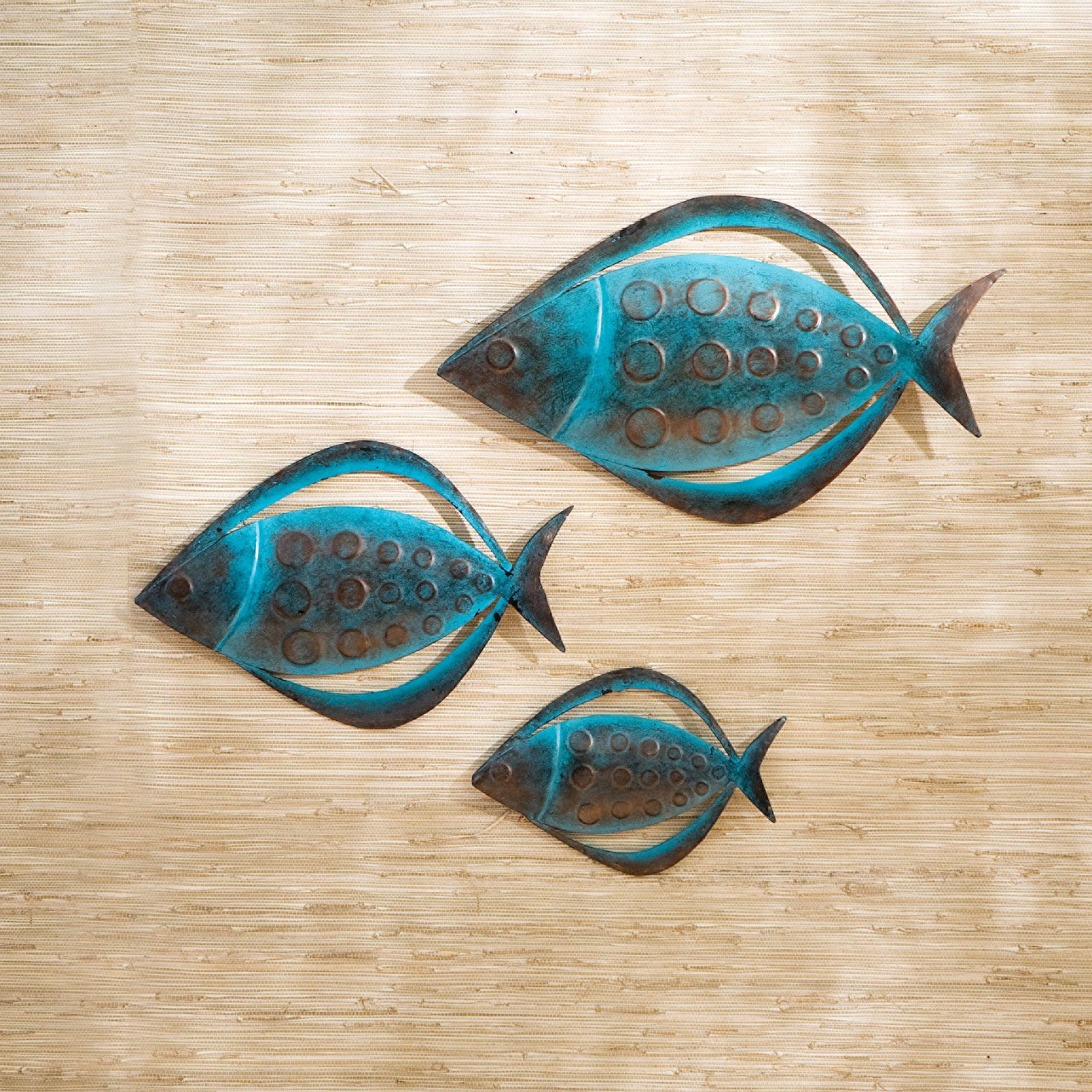 Best ideas about Metal Fish Wall Art . Save or Pin Fish Metal Outdoor Wall Art Set of 3 at Hayneedle Now.