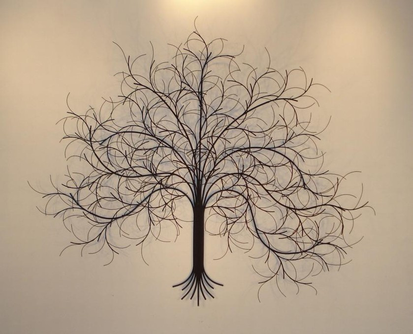 Best ideas about Metal Tree Wall Art . Save or Pin Metal Wall Art Metal Wall Sculpture Gurtan Now.