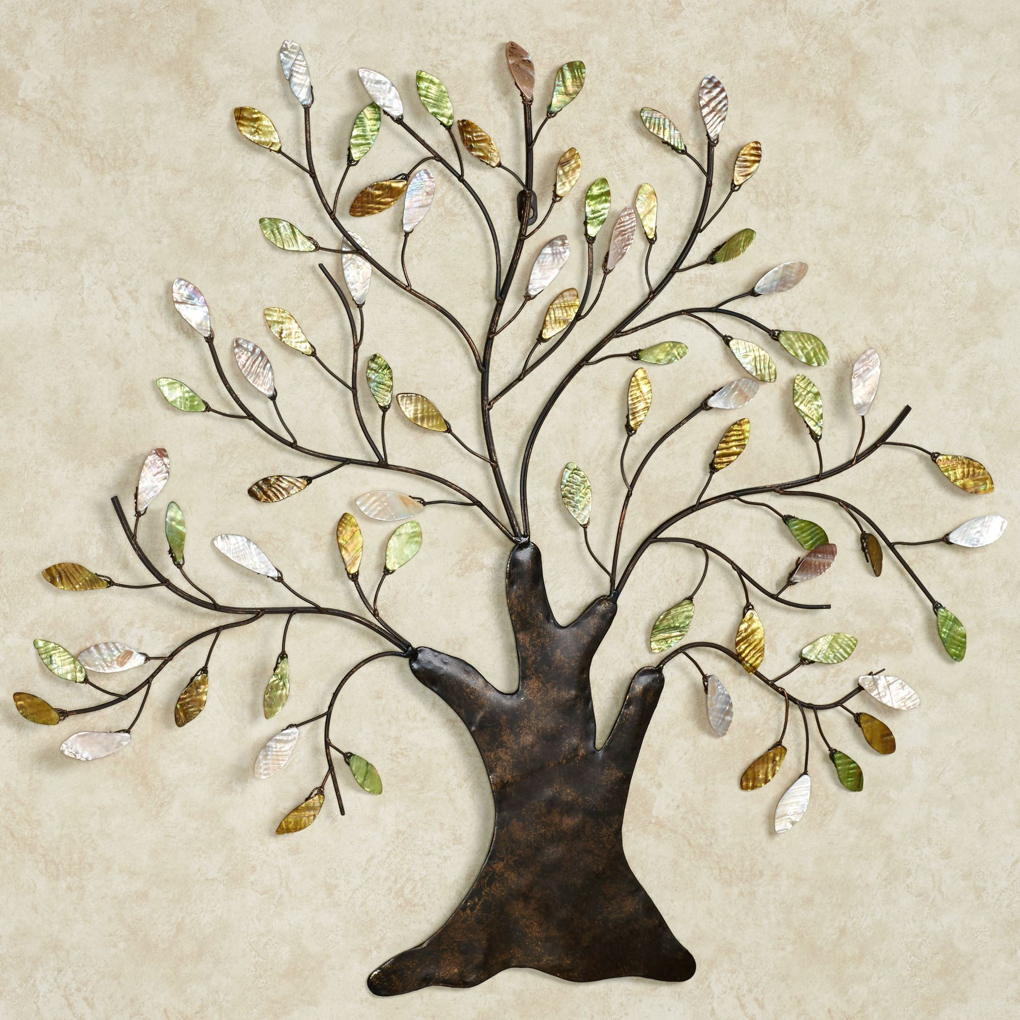 Best ideas about Metal Tree Wall Art . Save or Pin Shimmering Tree Metal Wall Art Sculpture Now.