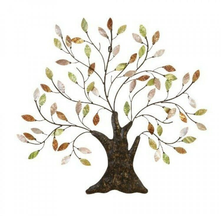 Best ideas about Metal Tree Wall Art . Save or Pin Metal Tree of Life Wall Art Decoration Branch Shells Home Now.