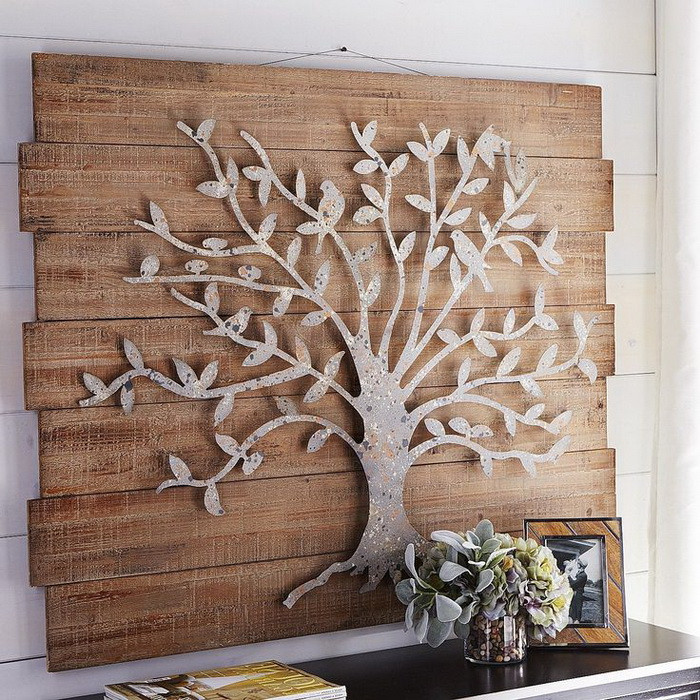 Best ideas about Metal Tree Wall Art . Save or Pin Metal Wall Art Decor 15 Artistic Marvelous Ideas Home Loof Now.