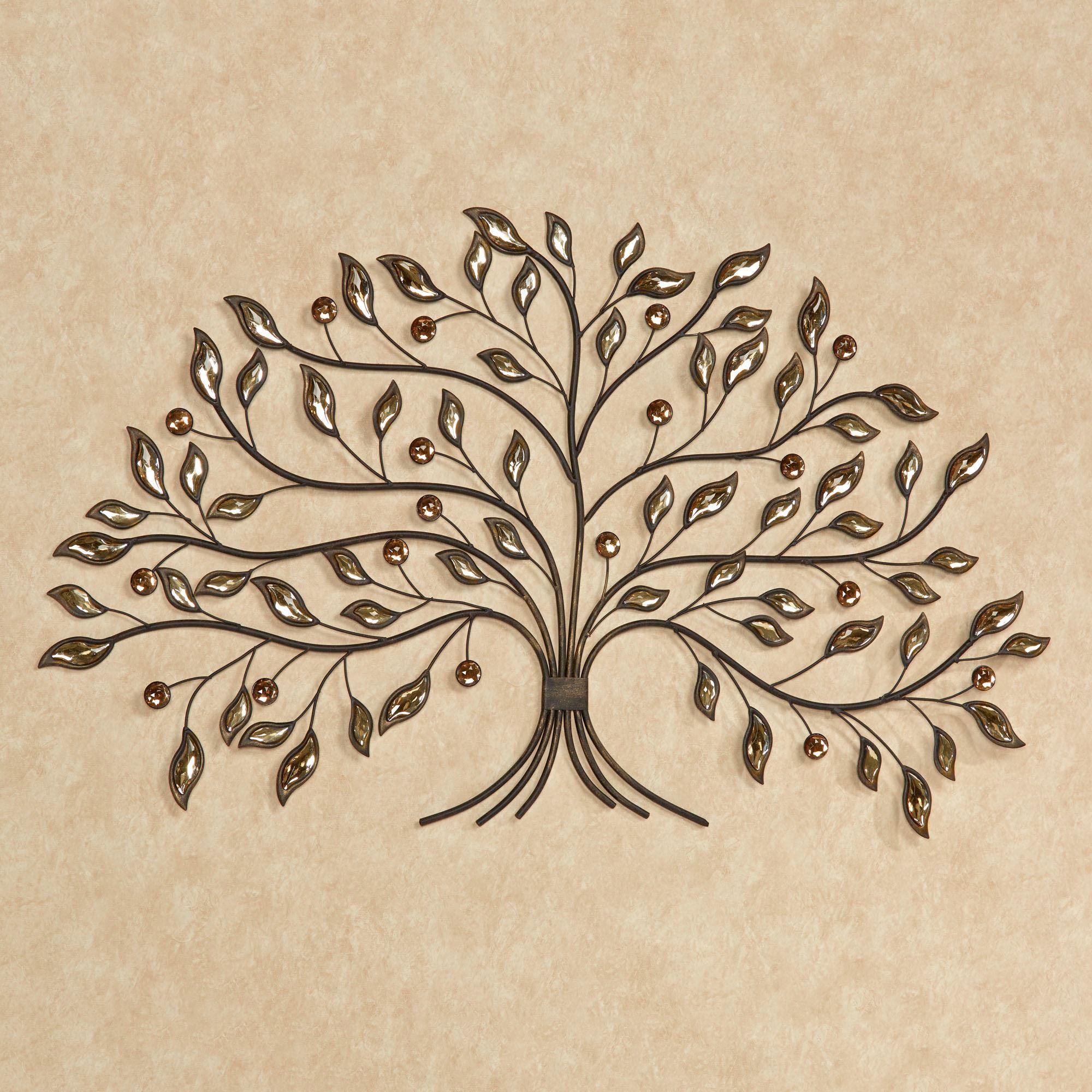 Best ideas about Metal Tree Wall Art . Save or Pin Alexandra Vining Gem Tree Metal Wall Art Now.