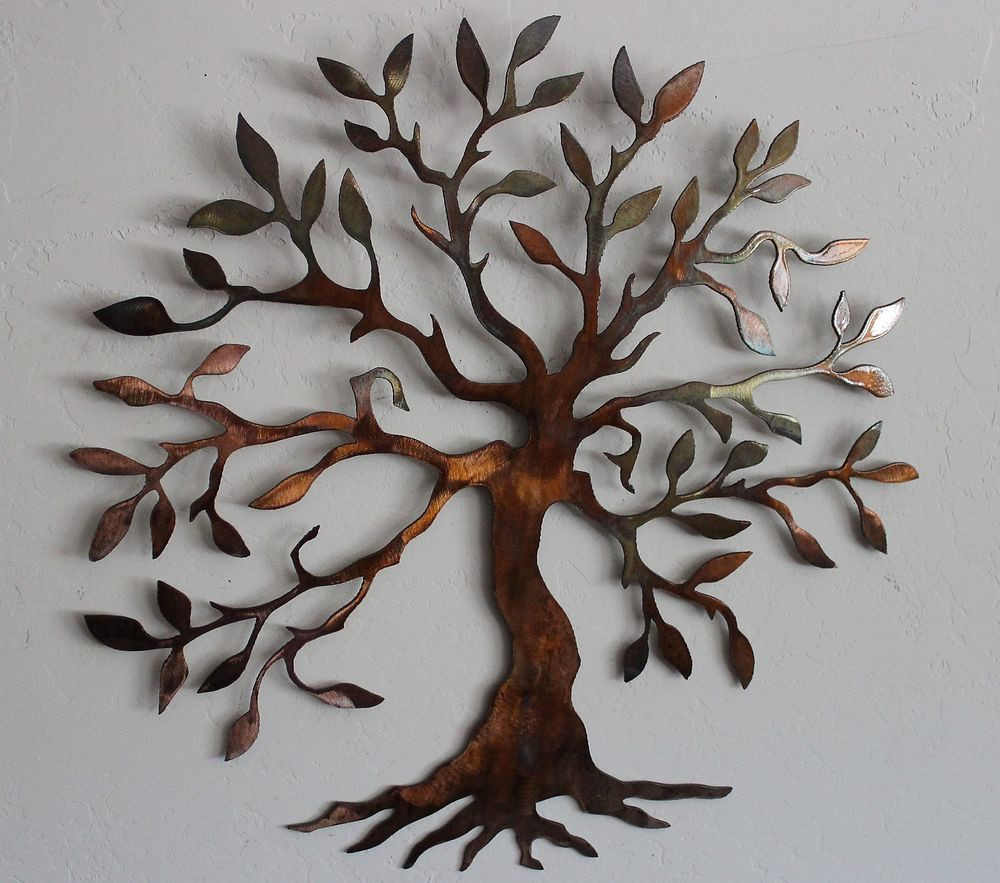 """Best ideas about Metal Tree Wall Art . Save or Pin Olive Tree Tree of Life 40"""" Metal Wall Art Decor Now."""