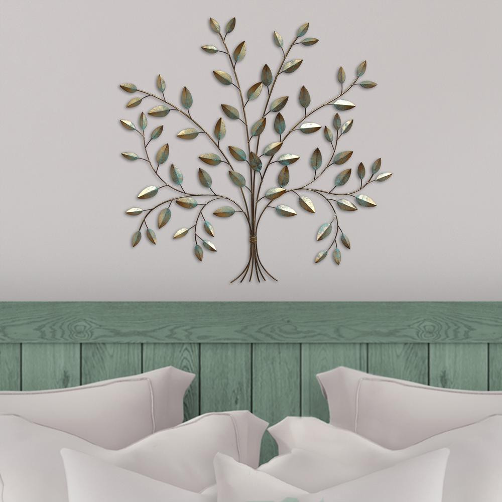 Best ideas about Metal Tree Wall Art . Save or Pin Stratton Home Decor Stratton Home Metal Tree of Life Wall Now.