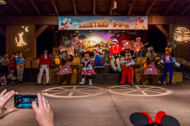 Best ideas about Mickeys Backyard Bbq . Save or Pin Review Mickey's Backyard BBQ at Disney's Fort Wilderness Now.