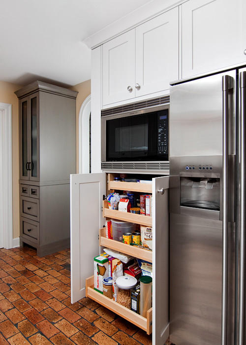 Best ideas about Microwave Pantry Cabinets . Save or Pin What is the width of the microwave pantry cabinet Thanks Now.