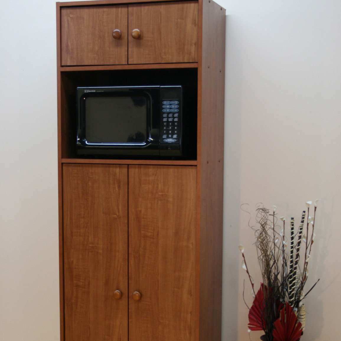 Best ideas about Microwave Pantry Cabinets . Save or Pin Microwave Pantry Cabinet with Microwave Insert at Hayneedle Now.