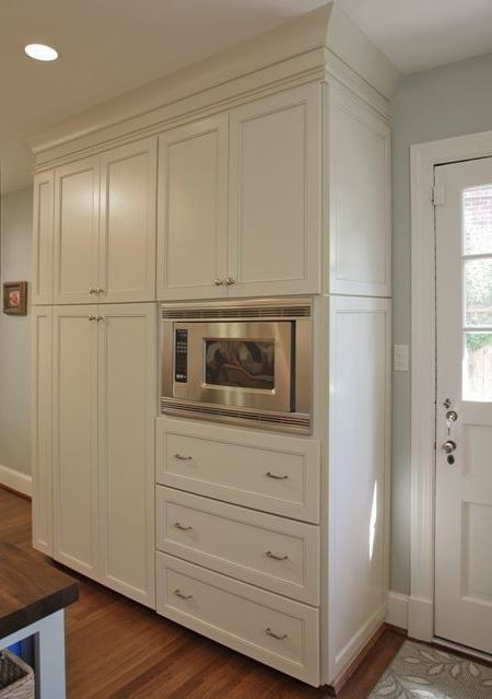 Best ideas about Microwave Pantry Cabinets . Save or Pin Pantry Cabinets 10 Gorgeous Microwave Pantry Cabinet Now.