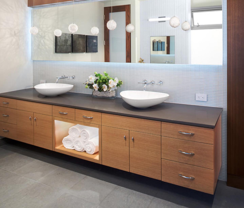 Best ideas about Mid Century Bathroom Vanity . Save or Pin Design of Mid Century Modern Bathroom Vanity Now.