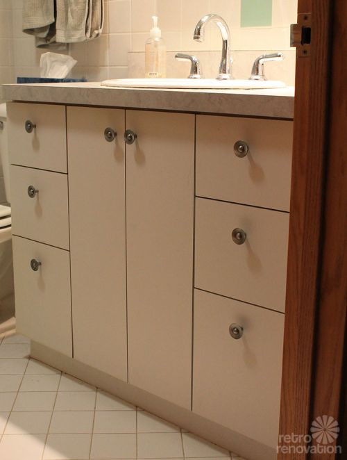 Best ideas about Mid Century Bathroom Vanity . Save or Pin Kate builds a mid century modern bathroom vanity total Now.