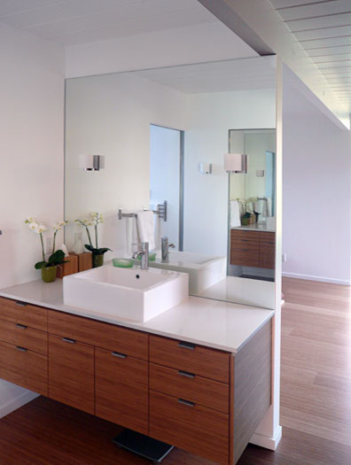 Best ideas about Mid Century Bathroom Vanity . Save or Pin Klopf architecture master bathroom vanity area Now.