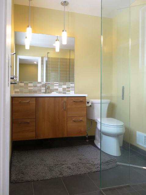 Best ideas about Mid Century Bathroom Vanity . Save or Pin Mid Century Modern Master Bathroom Midcentury Bathroom Now.