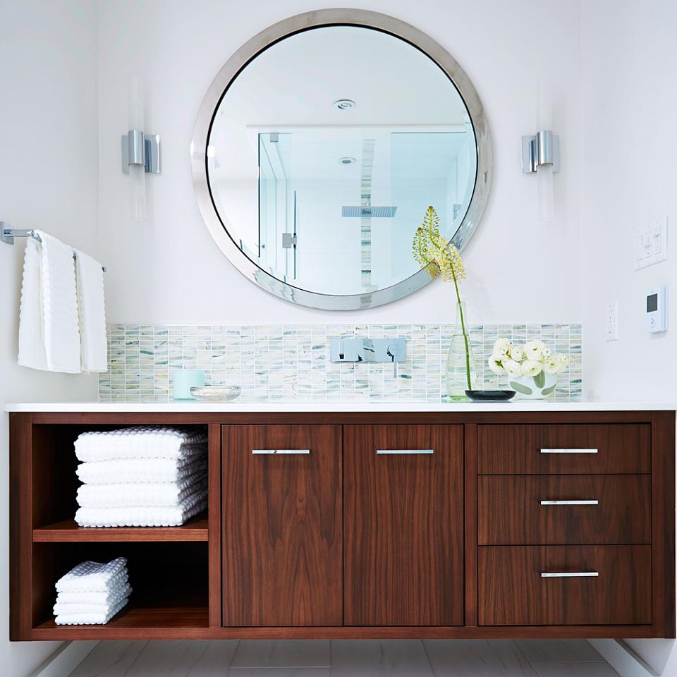 Best ideas about Mid Century Bathroom Vanity . Save or Pin 30 Beautiful Midcentury Bathroom Design Ideas Now.