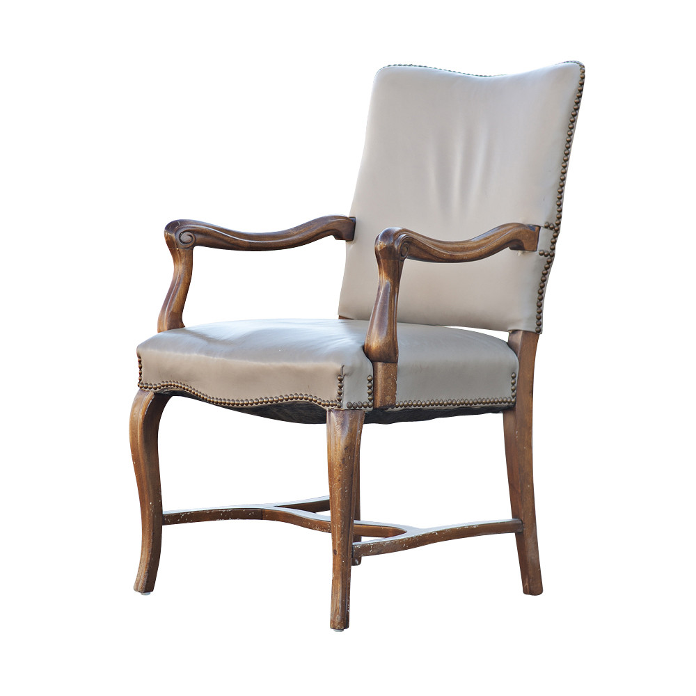 Best ideas about Mid Century Dining Chair . Save or Pin Mid Century Modern Traditional Tan Arm Dining Chair Now.