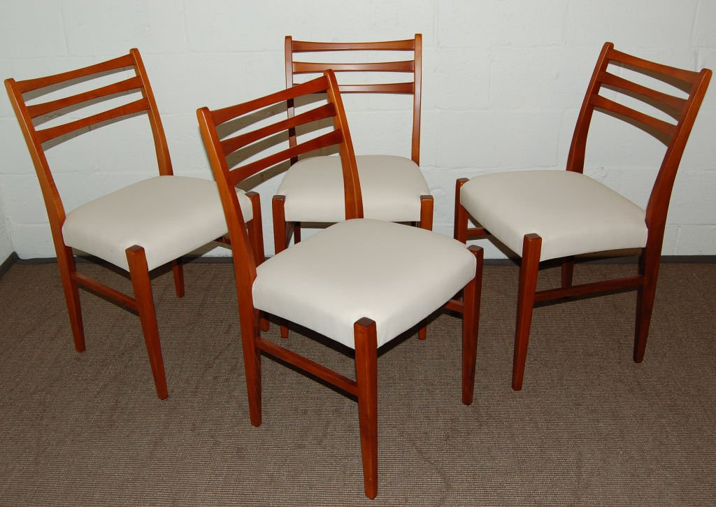 Best ideas about Mid Century Dining Chair . Save or Pin Elegance Design of Teak Dining ChairsTEAK FURNITURES Now.