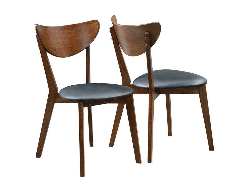 Best ideas about Mid Century Dining Chair . Save or Pin Malone Modern Style Design Walnut Finish Mid Century Now.