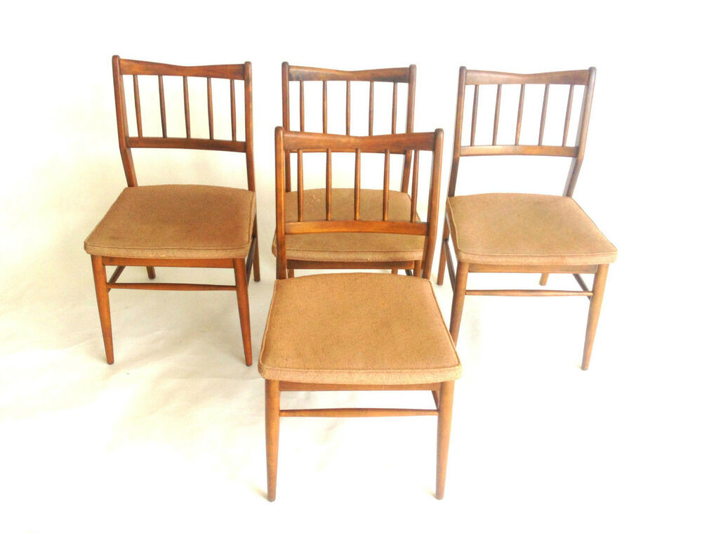 Best ideas about Mid Century Dining Chair . Save or Pin MID CENTURY DANISH MODERN WALNUT SET 4 1950s DINING CHAIRS Now.