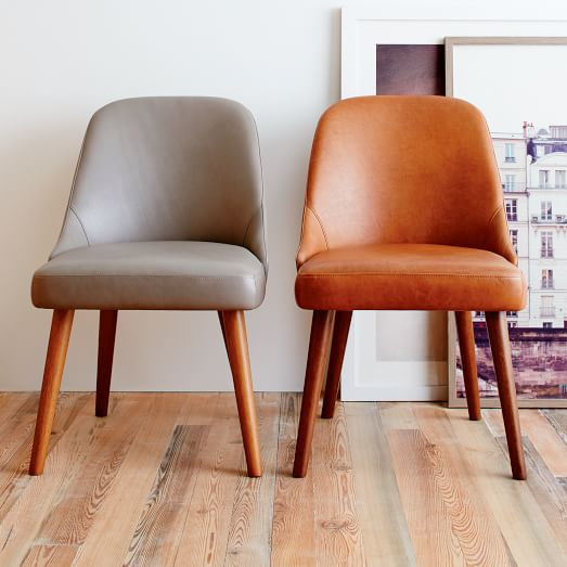 Best ideas about Mid Century Dining Chair . Save or Pin Mid Century Leather Dining Chair Now.