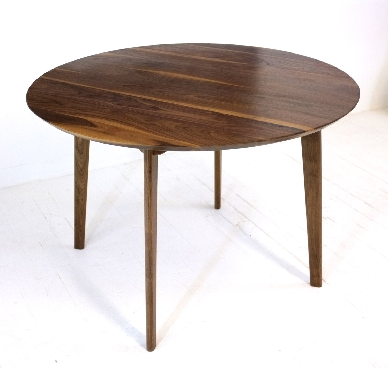 Best ideas about Mid Century Modern Dining Table . Save or Pin Mid Century Modern Round Dining Table Cafe Table Solid Now.
