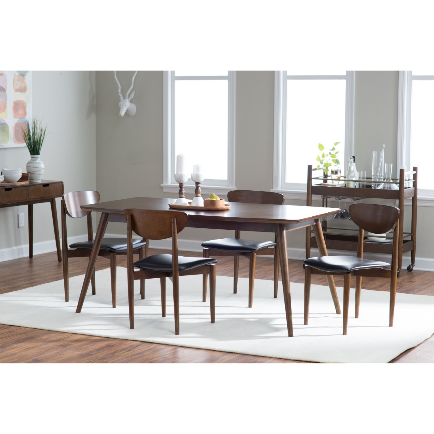 Best ideas about Mid Century Modern Dining Table . Save or Pin Belham Living Carter Mid Century Modern Dining Table Now.