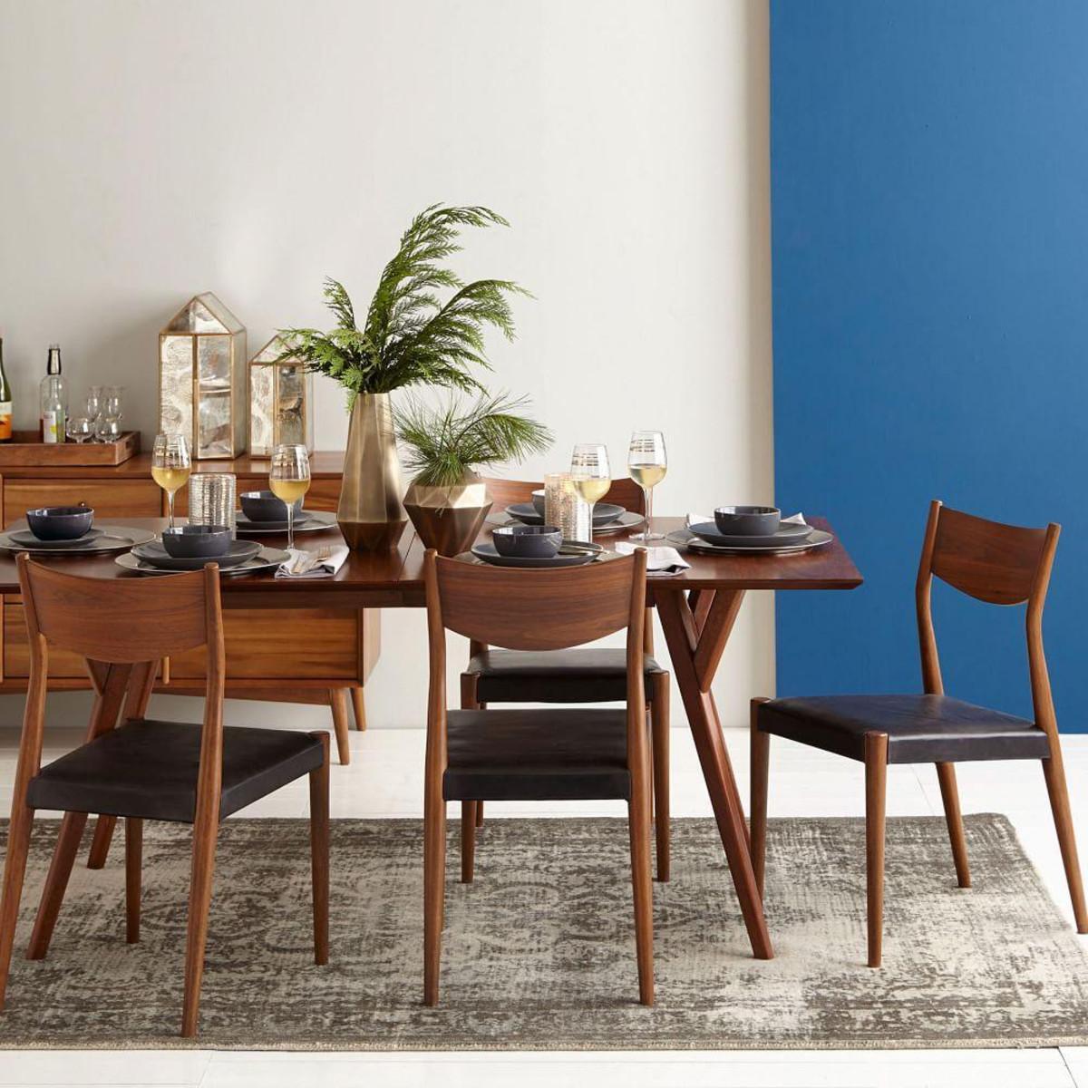 Best ideas about Mid Century Modern Dining Table . Save or Pin Mid Century Expandable Dining Table Walnut Now.