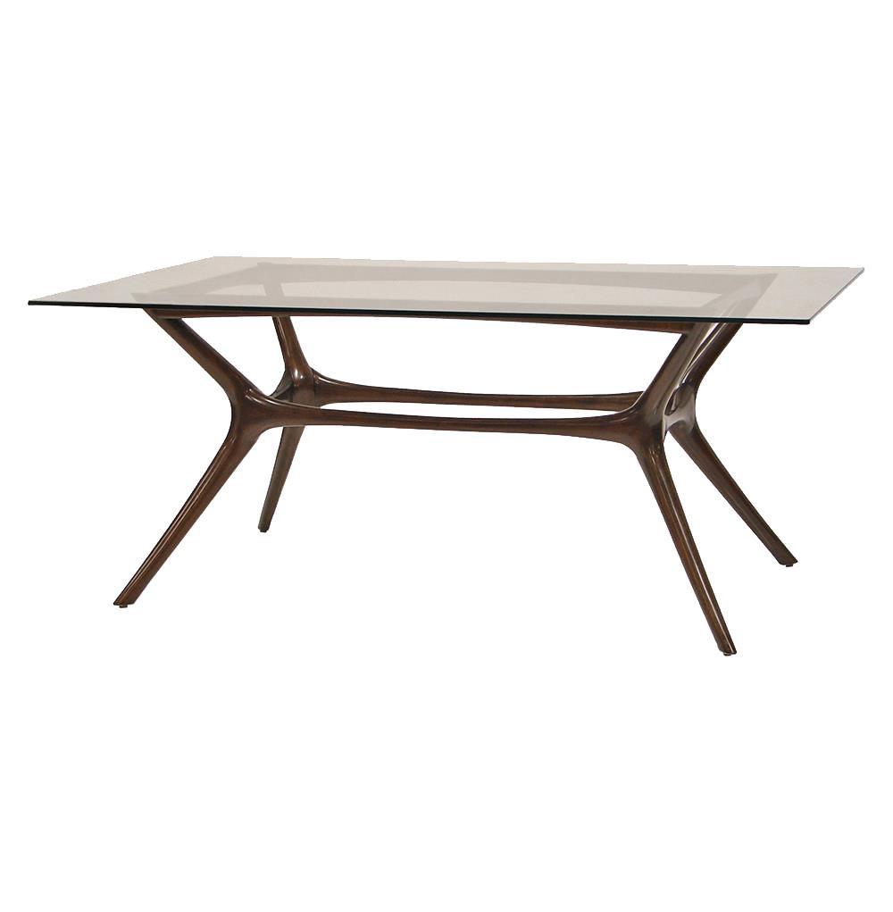 Best ideas about Mid Century Modern Dining Table . Save or Pin Palecek Copenhagen Mid Century Mid Century Mahogany Glass Now.