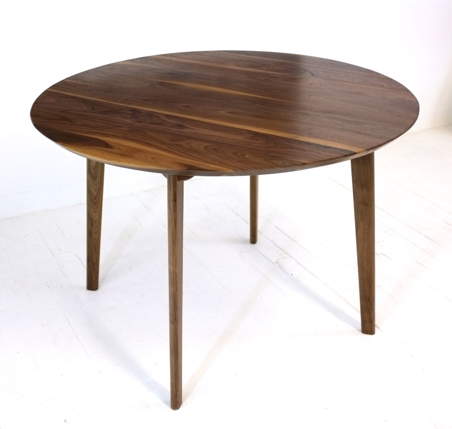 Best ideas about Mid Century Modern Round Dining Table . Save or Pin Mid Century Modern Round Dining Table Cafe Table Solid Now.