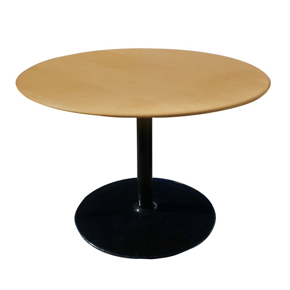 """Best ideas about Mid Century Modern Round Dining Table . Save or Pin 42"""" Round Mid Century Modern Knife Edge Dining Table Now."""