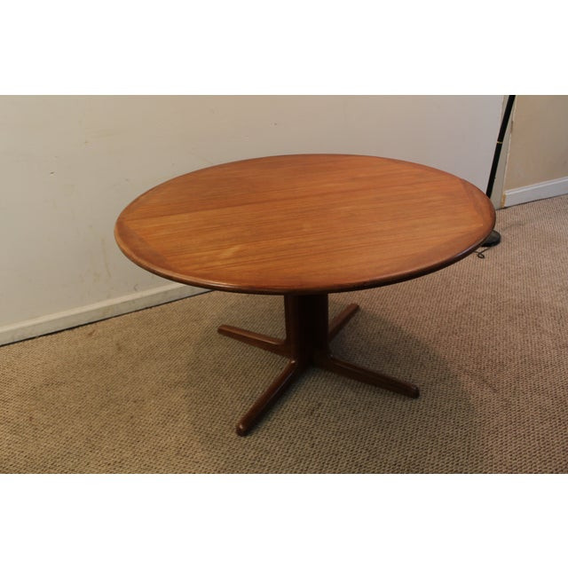 Best ideas about Mid Century Modern Round Dining Table . Save or Pin Mid Century Danish Modern Teak Round Dining Table Now.