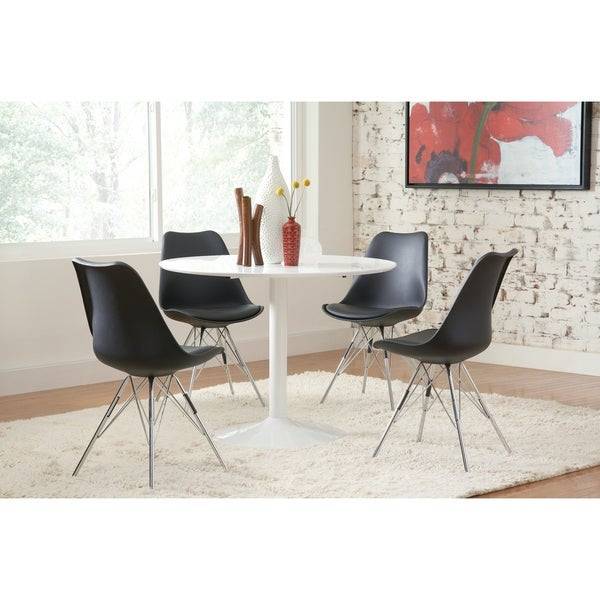 Best ideas about Mid Century Modern Round Dining Table . Save or Pin Shop Lowry Mid century Modern White Round Dining Table Now.