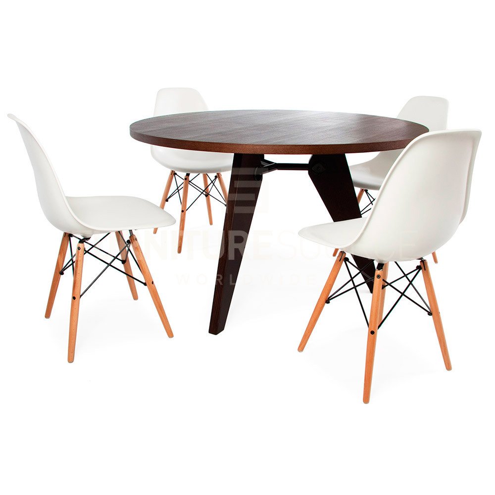 Best ideas about Mid Century Modern Round Dining Table . Save or Pin Jean Prouve Style Mid Century Modern Round Gueridon Now.