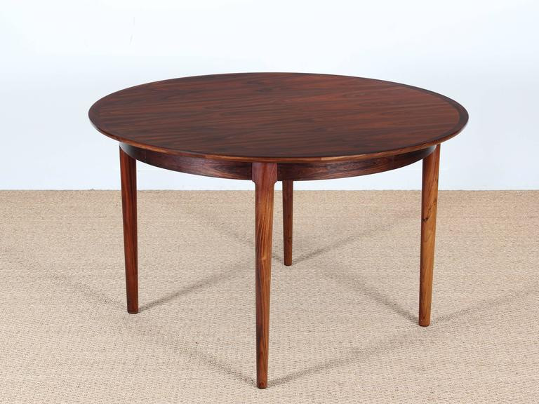 Best ideas about Mid Century Modern Round Dining Table . Save or Pin Mid Century Modern Danish Extendable Round Dining Table in Now.
