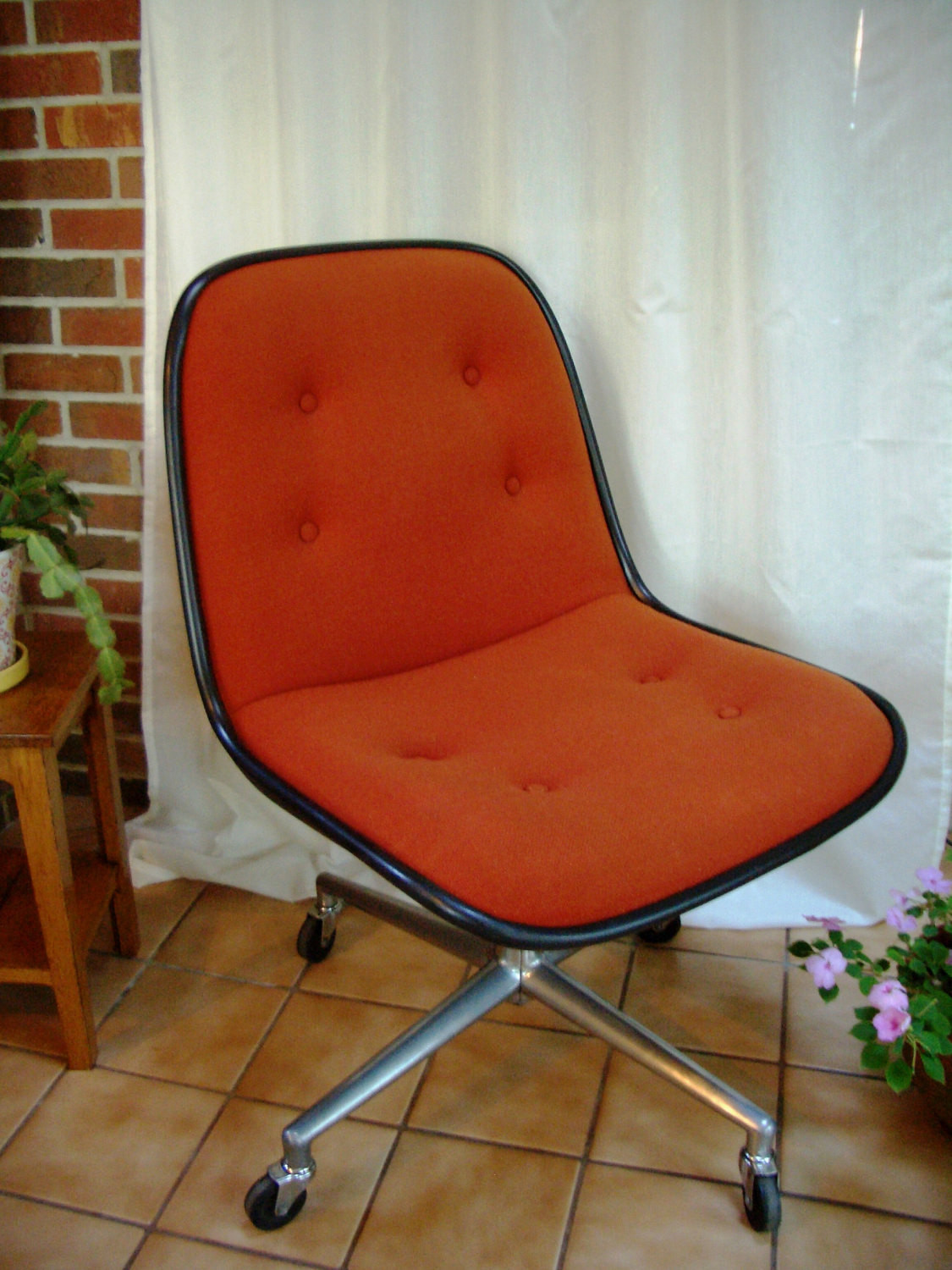 Best ideas about Mid Century Office Chair . Save or Pin Vintage fice Desk Chair Mid Century Pollock Style Treasury Now.