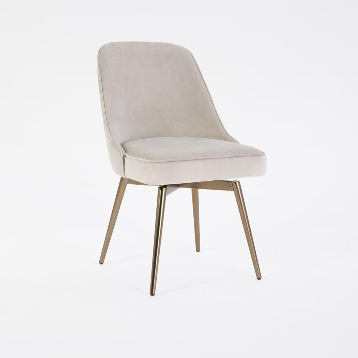Best ideas about Mid Century Office Chair . Save or Pin Mid Century Swivel fice Chair Velvet Now.