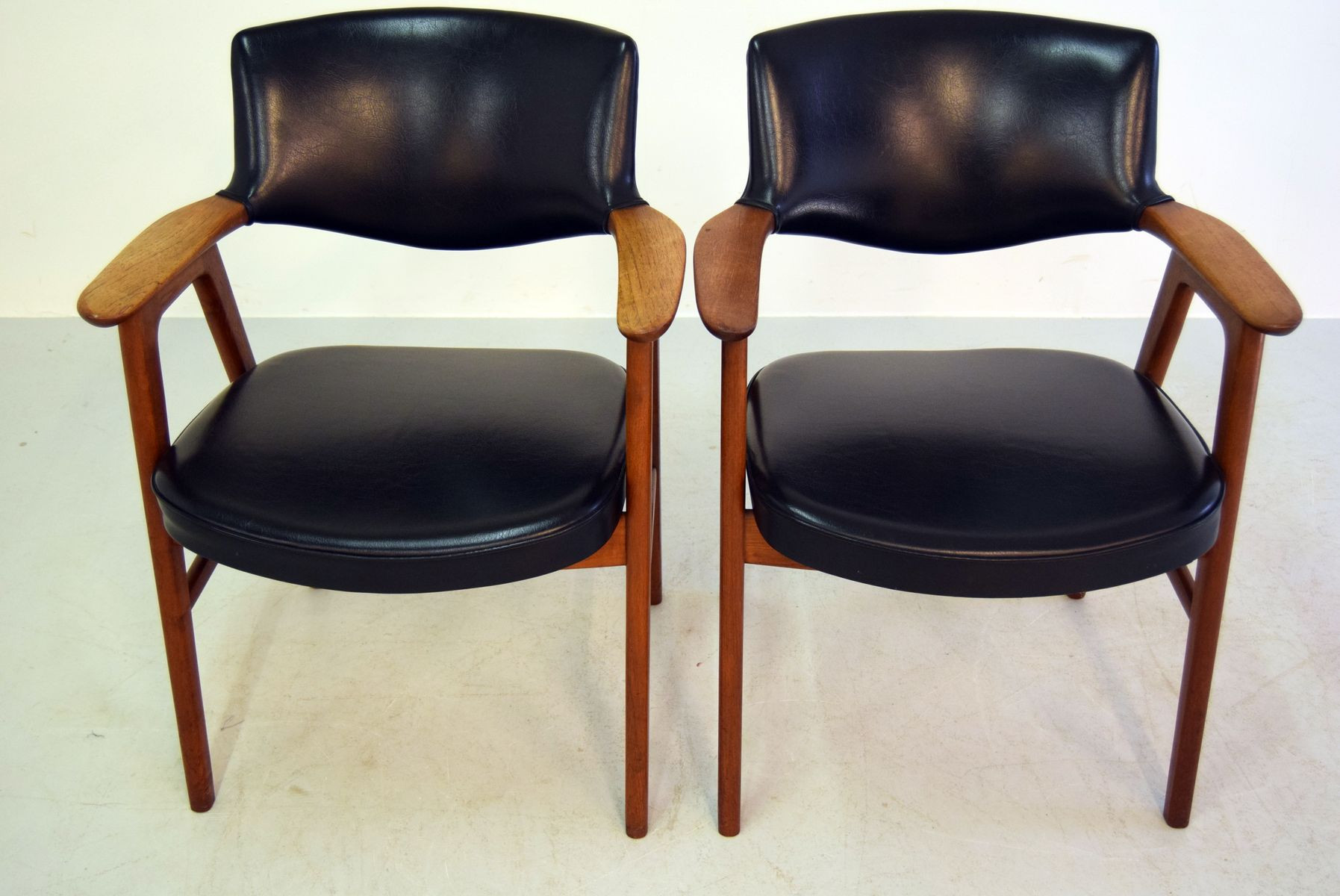 Best ideas about Mid Century Office Chair . Save or Pin Mid Century fice Chairs by Erik Kirkegaard for Glostrup Now.
