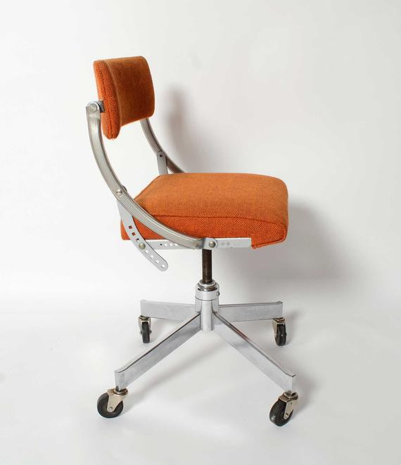 Best ideas about Mid Century Office Chair . Save or Pin Domore fice Chair Mid Century Modern Industrial Steel Chic Now.