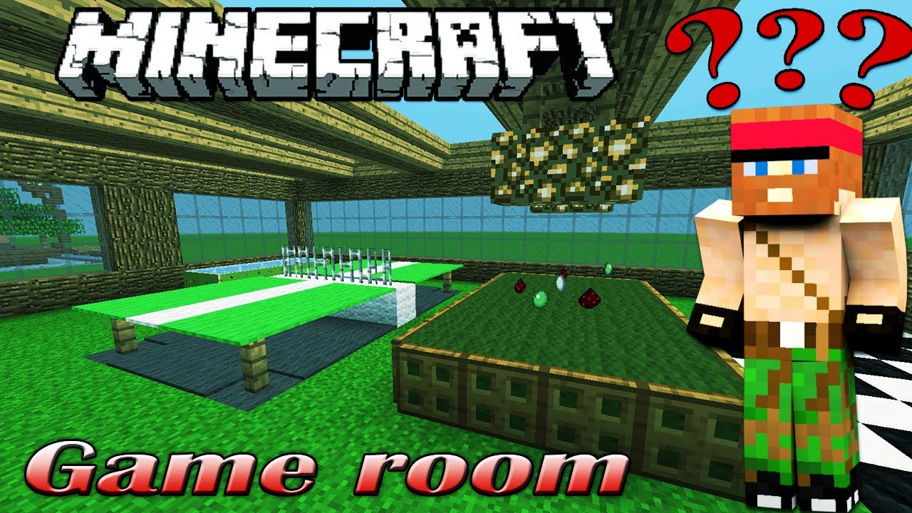 Best ideas about Minecraft Game Room . Save or Pin Minecraft GAME ROOM [Interactive Building 16] Now.