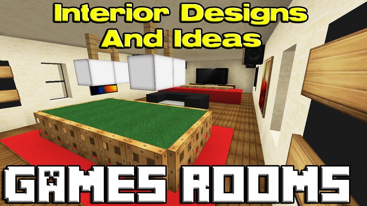 Best ideas about Minecraft Game Room . Save or Pin Minecraft Games Room Designs Now.
