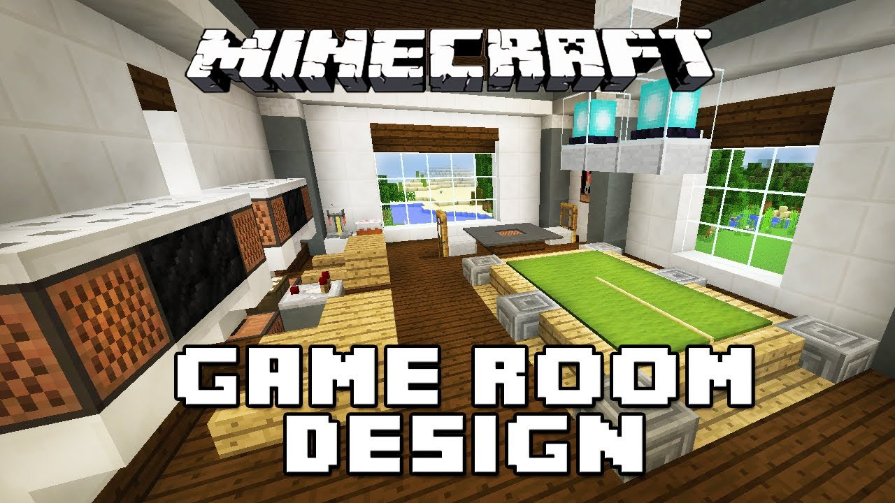Best ideas about Minecraft Game Room . Save or Pin Minecraft Tutorial How To Make Furniture For A Game Room Now.