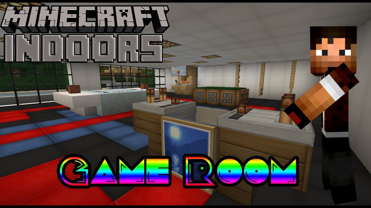 Best ideas about Minecraft Game Room . Save or Pin How to Build a Game Room Minecraft Indoors Interior Now.