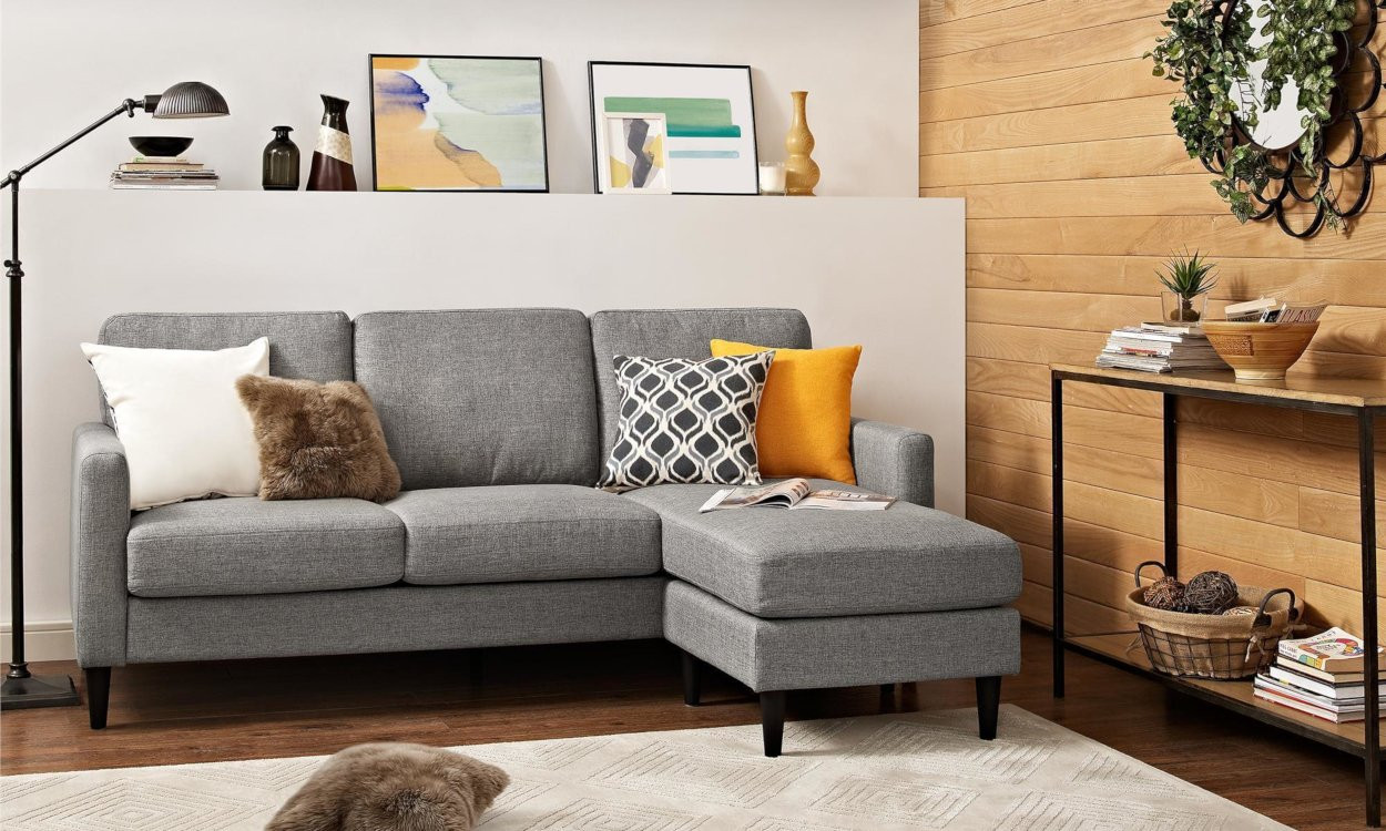 Best ideas about Mini Sectional Sofa . Save or Pin Small Sectional Sofas & Couches for Small Spaces Now.