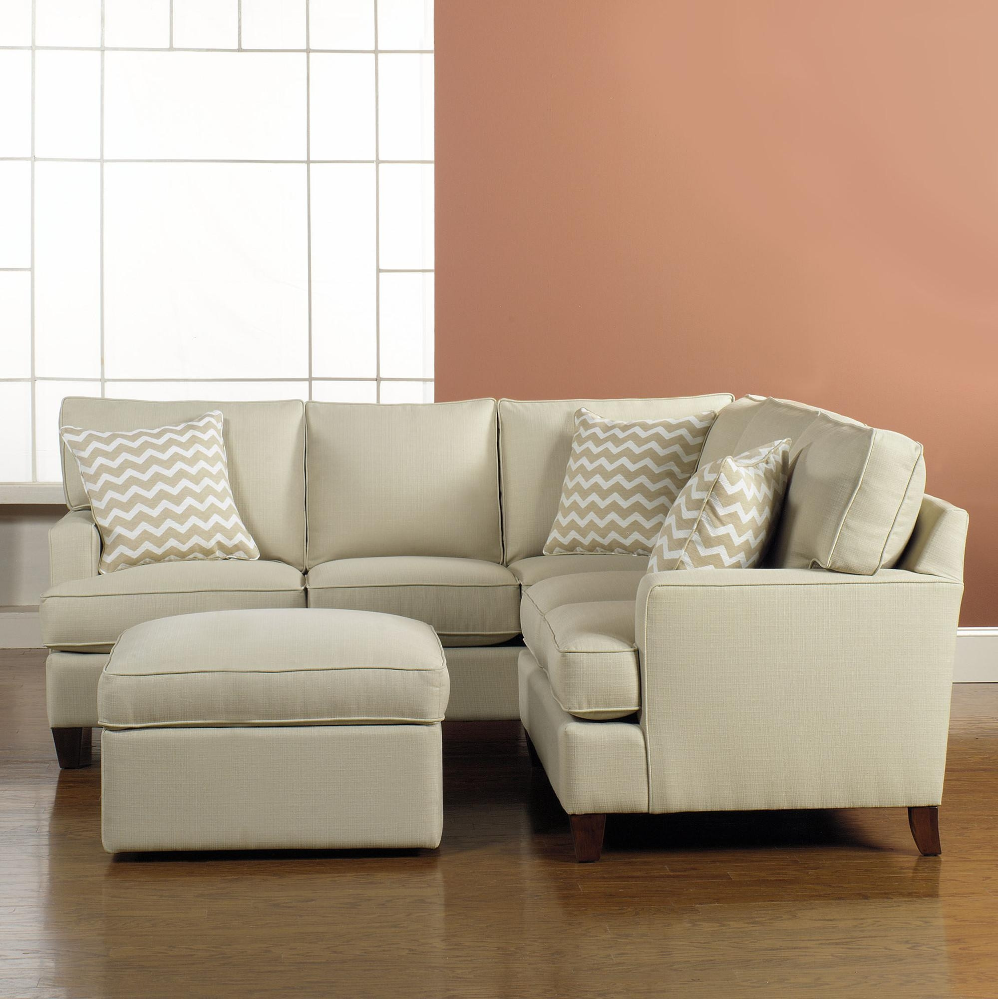Best ideas about Mini Sectional Sofa . Save or Pin 20 s Sectional Sofas in Small Spaces Now.