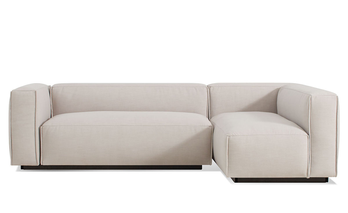 Best ideas about Mini Sectional Sofa . Save or Pin Cleon Small Sectional Sofa hivemodern Now.