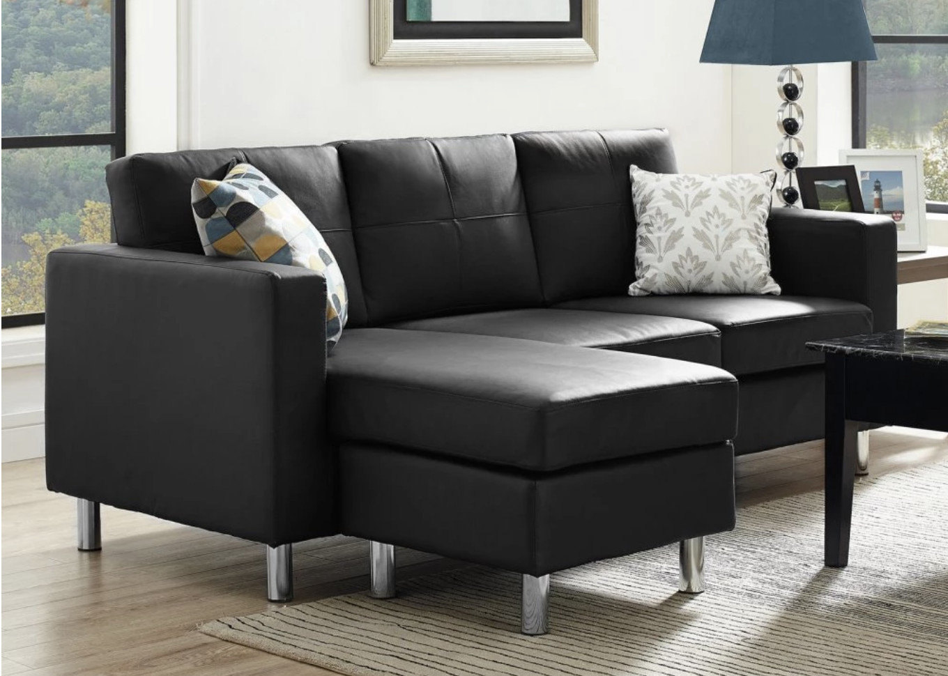 Best ideas about Mini Sectional Sofa . Save or Pin 6 Types of Small Sectional Sofas for Small Spaces Now.