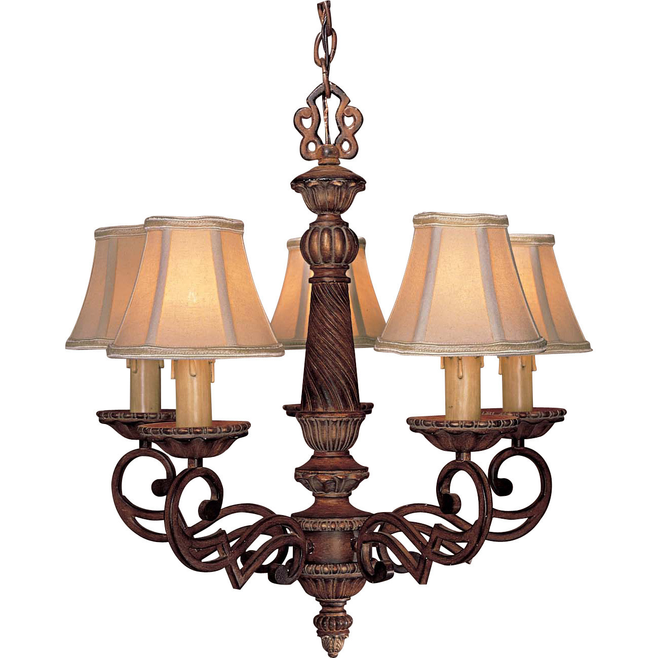 Best ideas about Minka Lavery Lighting . Save or Pin Minka Lavery Belcaro 5 Light Chandelier & Reviews Now.