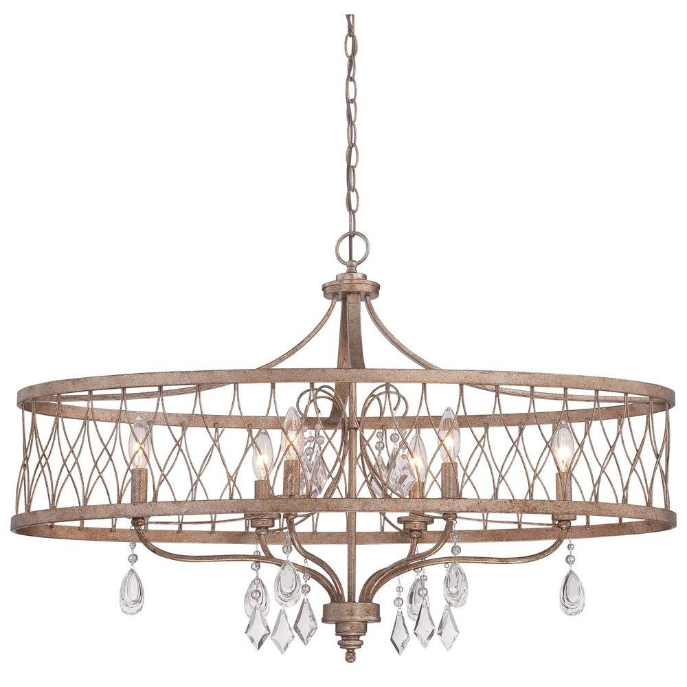Best ideas about Minka Lavery Lighting . Save or Pin Minka Lavery West Liberty 6 Light Olympus Gold Island Now.