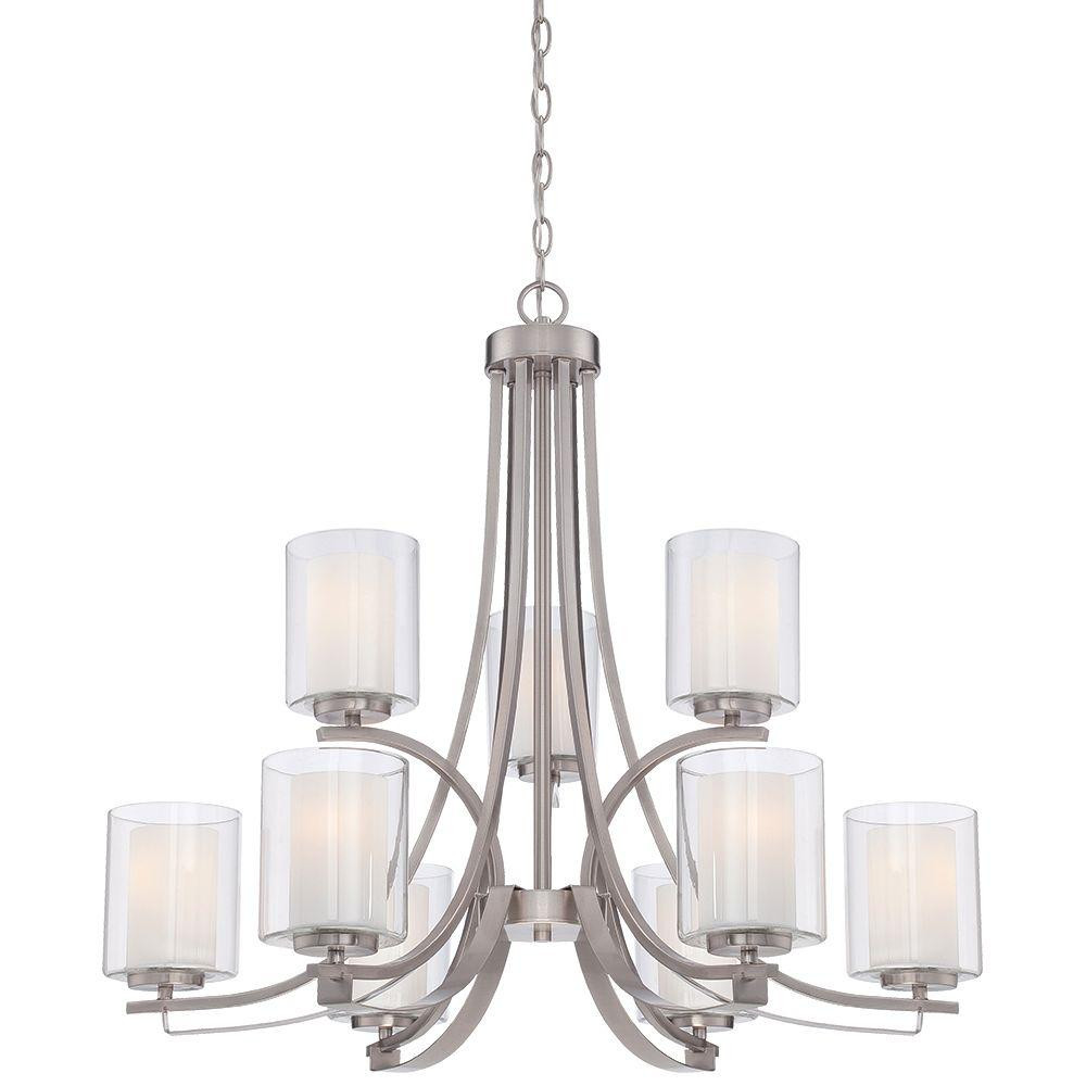 Best ideas about Minka Lavery Lighting . Save or Pin Minka Lavery Parsons Studio 9 Light Brushed Nickel Now.