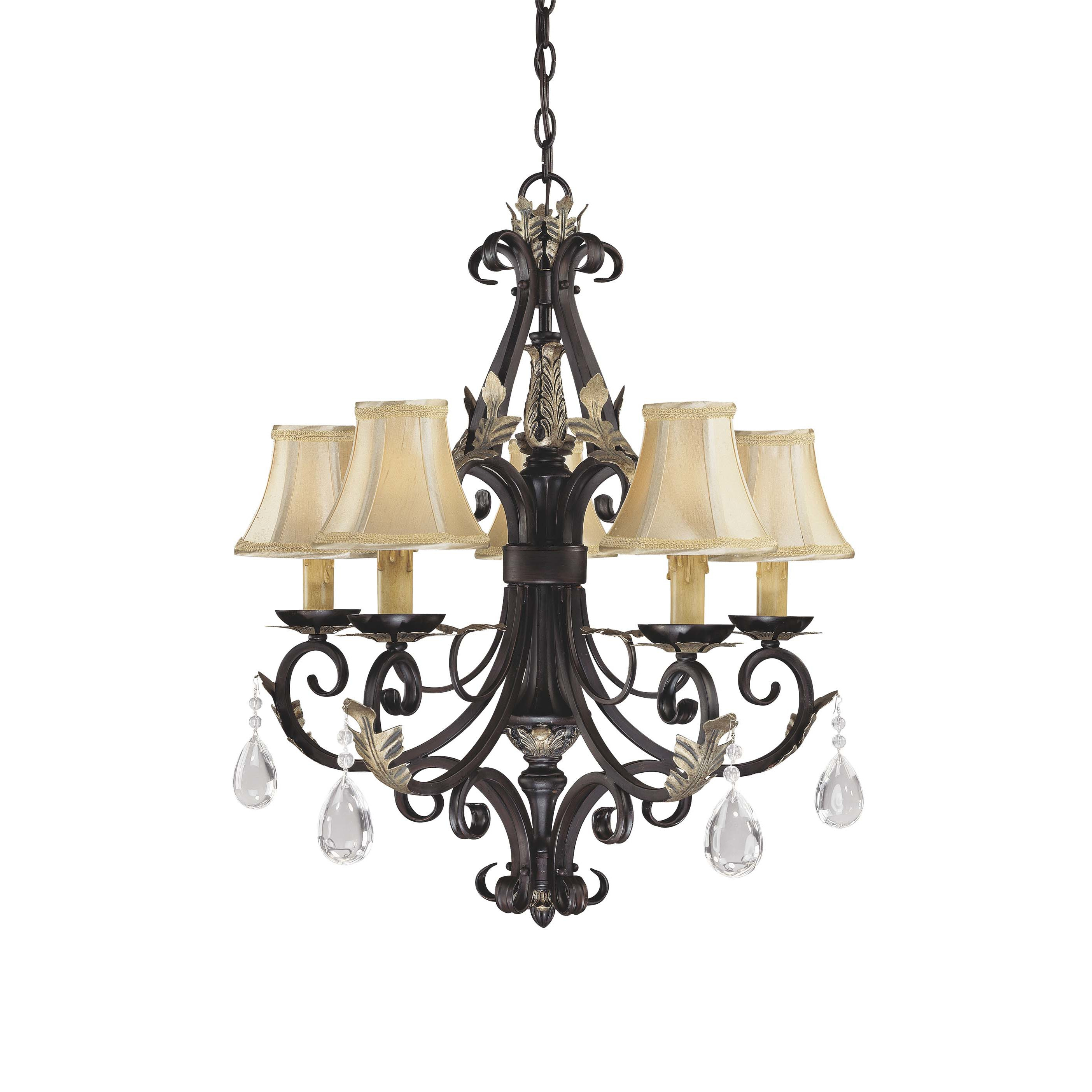 Best ideas about Minka Lavery Lighting . Save or Pin Minka Lavery Bellasera 5 Light Chandelier & Reviews Now.