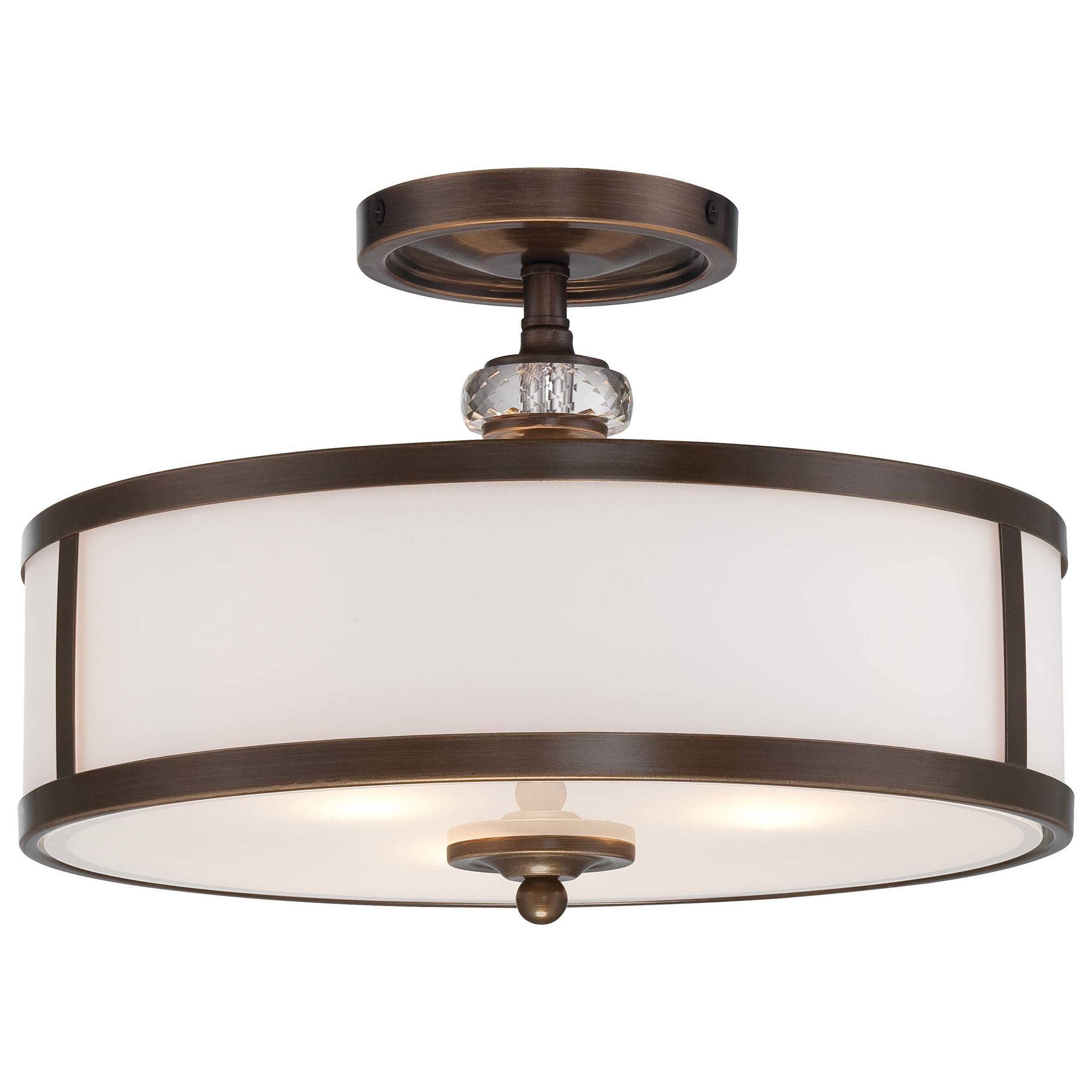 Best ideas about Minka Lavery Lighting . Save or Pin Minka Lavery Thorndale 3 Light Semi Flush Mount & Reviews Now.