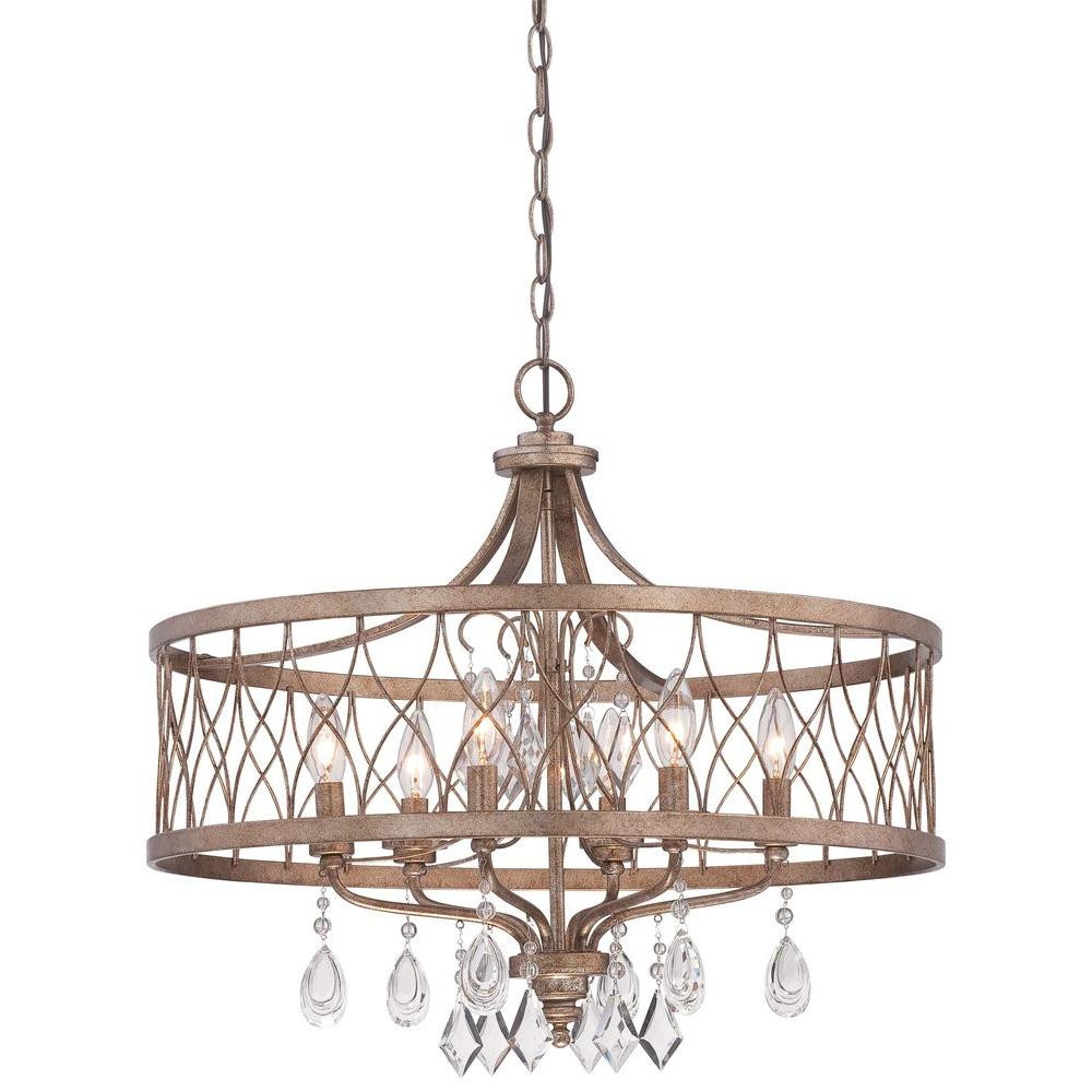 Best ideas about Minka Lavery Lighting . Save or Pin Minka Lavery West Liberty 6 Light Olympus Gold Chandelier Now.